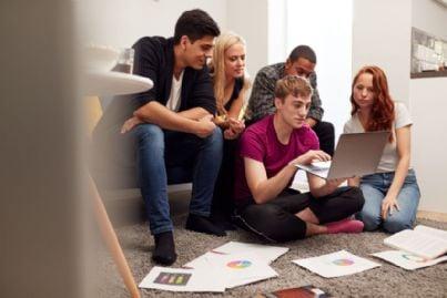 studenti in casa in affitto