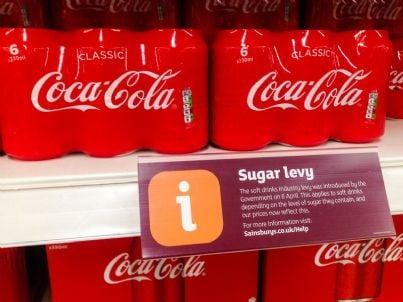 tassa sullo zucchero con coca cola