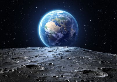 la superficie lunare
