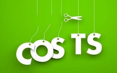 taglio dei costi con le forbici