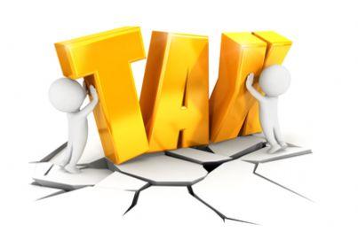 rappresentazione grafica della scritta tax