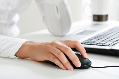 computer controllo tastiera mail