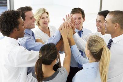 team di avvocati sorridenti