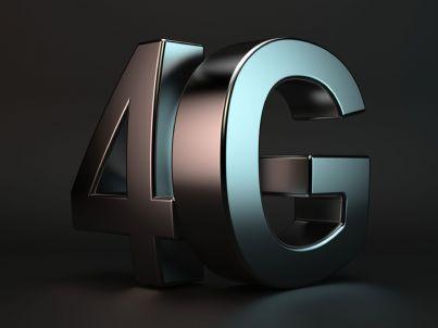 simbolo 4g connessione mobile