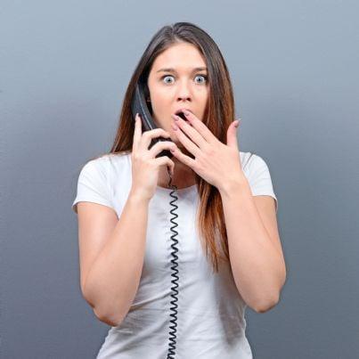 truffa telefonica ad una donna