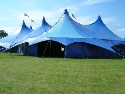 tensostruttura tenda circo