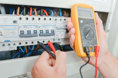 test su un impianto elettrico