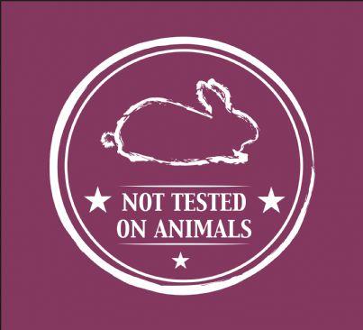 simbolo di prodotto non testato su animali