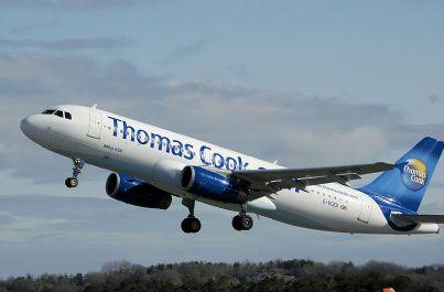 aereo Thomas Cook