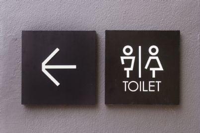 simbolo toilette per uomo e donna