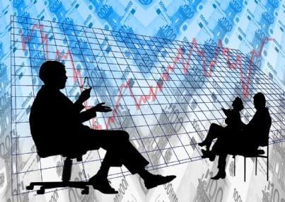 Illustrazione simbolo del trading