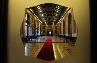 il Transatlantico a palazzo Montecitorio