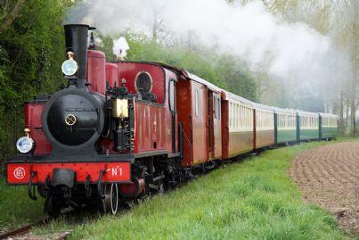 antico treno turistico