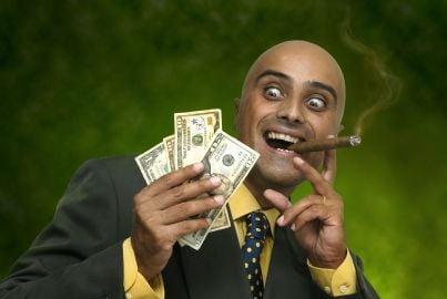 avvocato spregiudicato con soldi frutto di reato