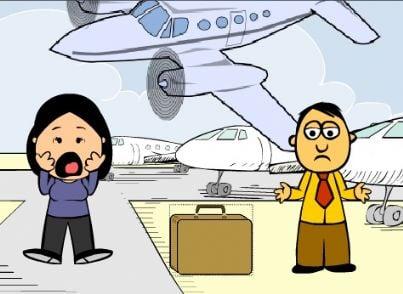 vacanza rovinata aereo viaggi