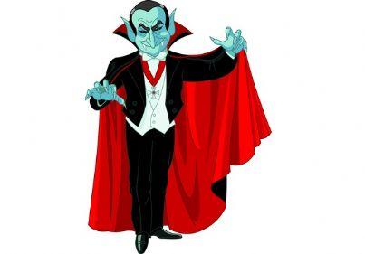 Disegno di un vampiro