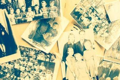 foto vintage di famiglia