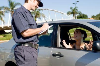 vigile multa contravvenzione