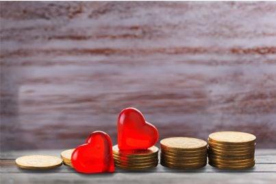 rendita o vitalizio con soldi tra i cuori