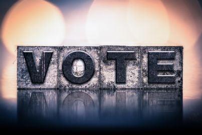 parola voto per elezioni