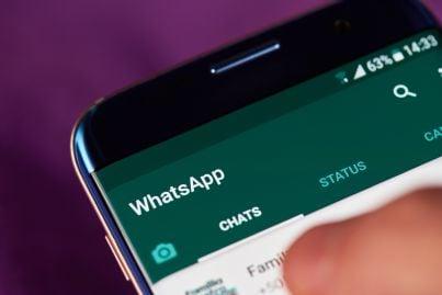 gruppo e chat in whatsapp