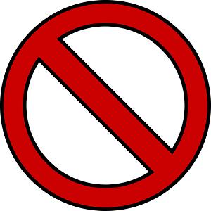 segnale di divieto